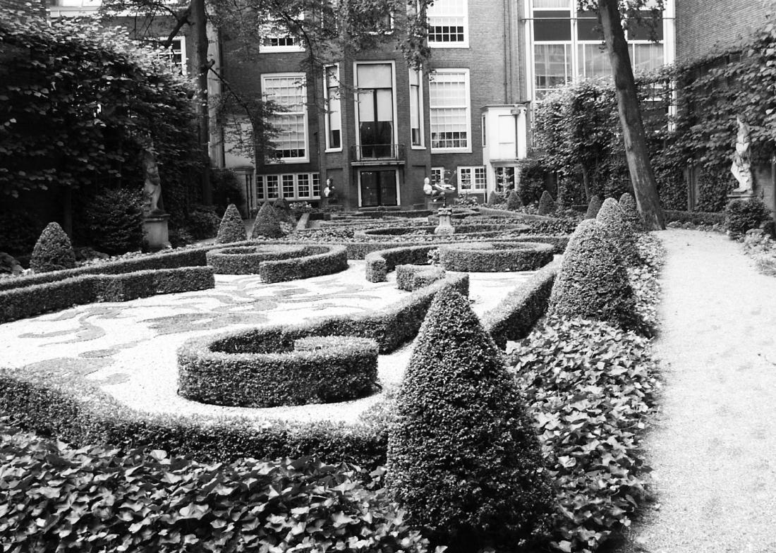 Formal gardens, Amsterdam
