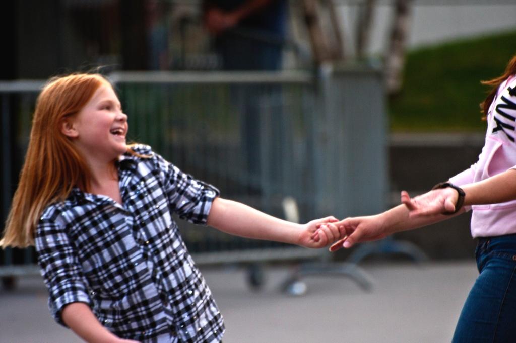 Dancing at Rosa Parks Circle, Grand Rapids