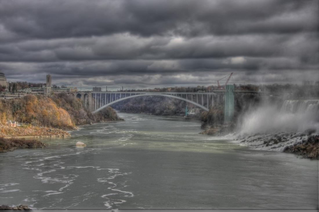 Niagara Falls, downstream view