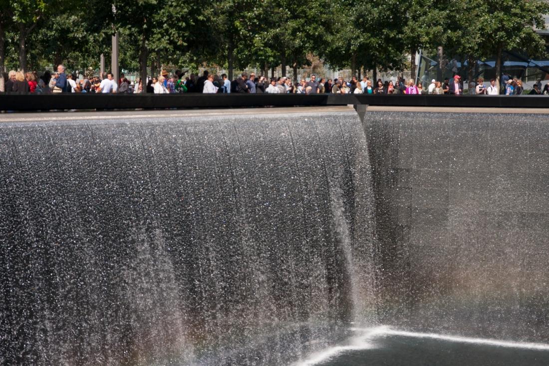 Infinity Pool and Waterfall, Ground Zero