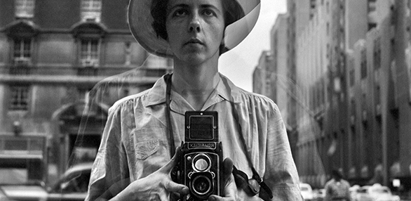 Vivian Meijer, Self Portrait.