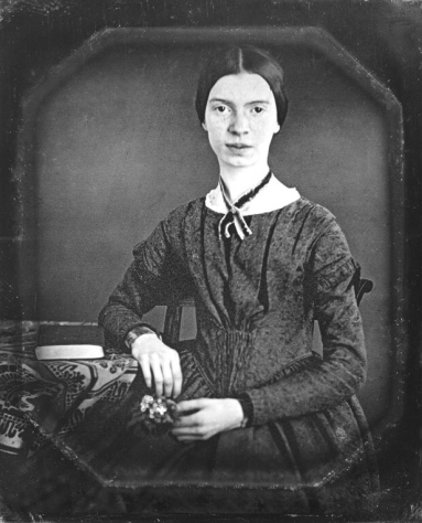 Emily Dickinson portrait, restored.   From http://hu.wikipedia.org/wiki/Emily_Dickinson
