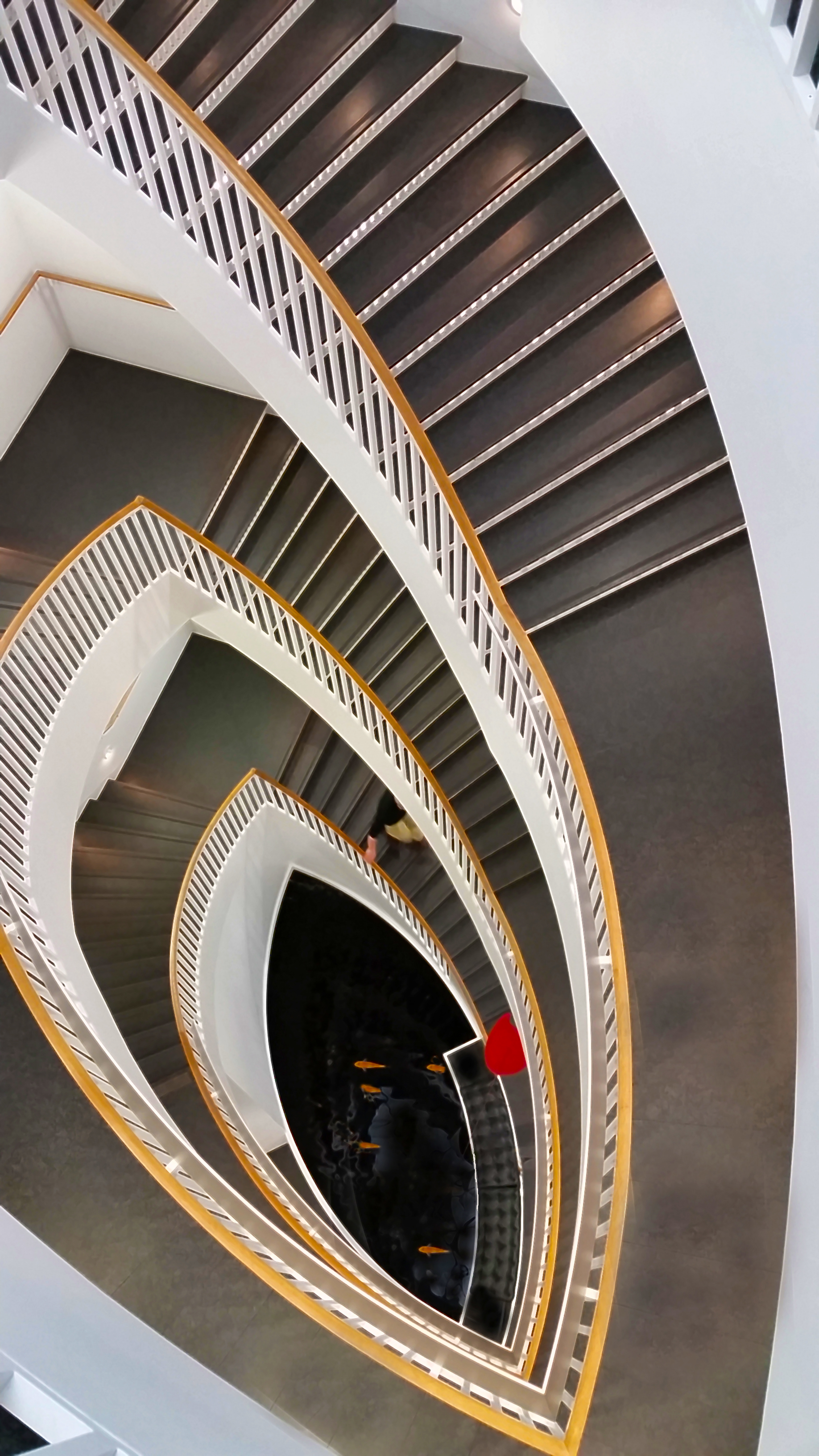 Spiral Staircase At The MCA, Chicago. Shot With My Samsung Galaxy S5.
