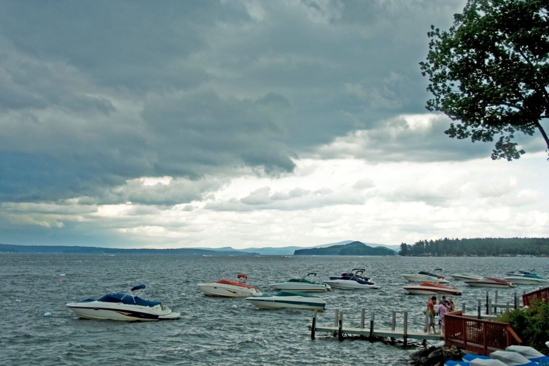 The End of Summer.  Lake Winnepesaukee, NH.  Shot with a Canon Rebel XT.