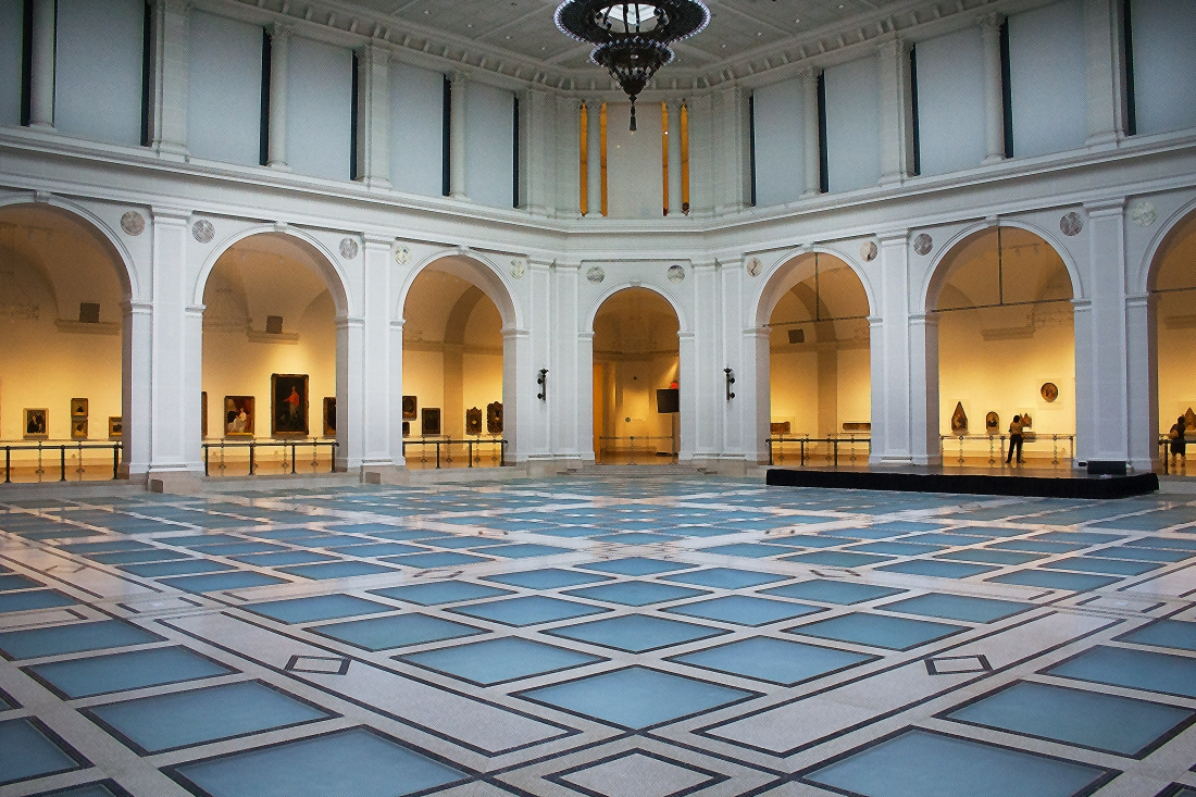 Brooklyn Museum Floor. Shot with a Canon 40D.