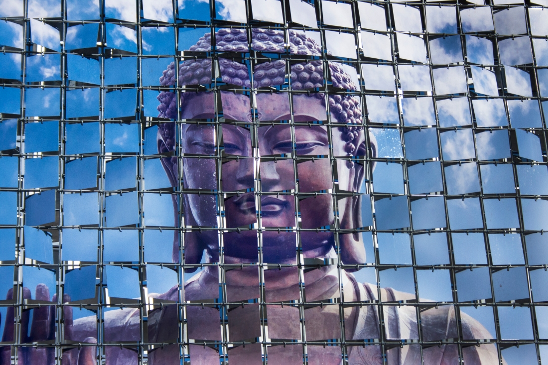 Buddha Grid. Art Prize 2013. Shot with a Canon 40D