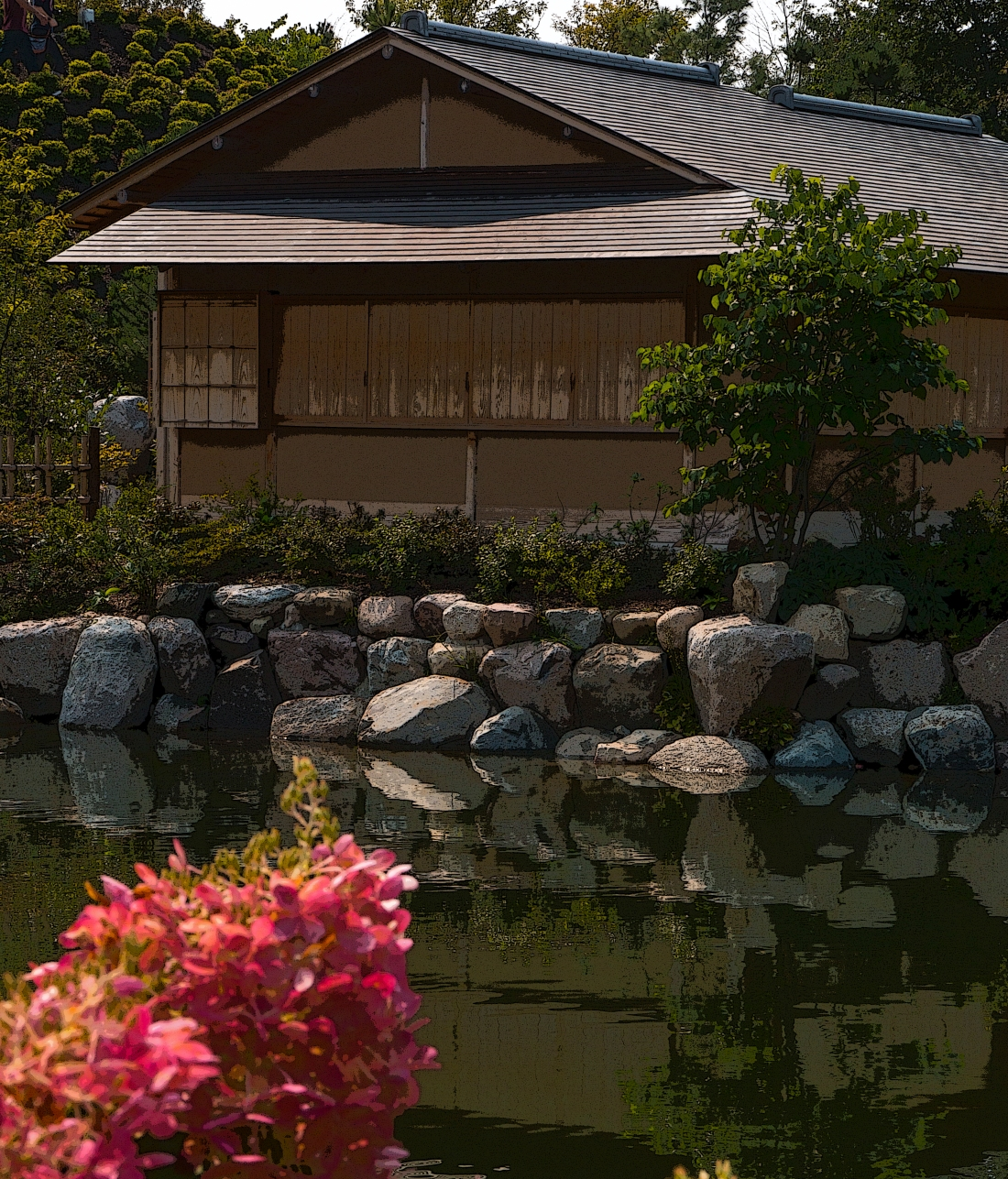 Japanese Tea House. Meijer Gardens. Shot with a Canon 70D.