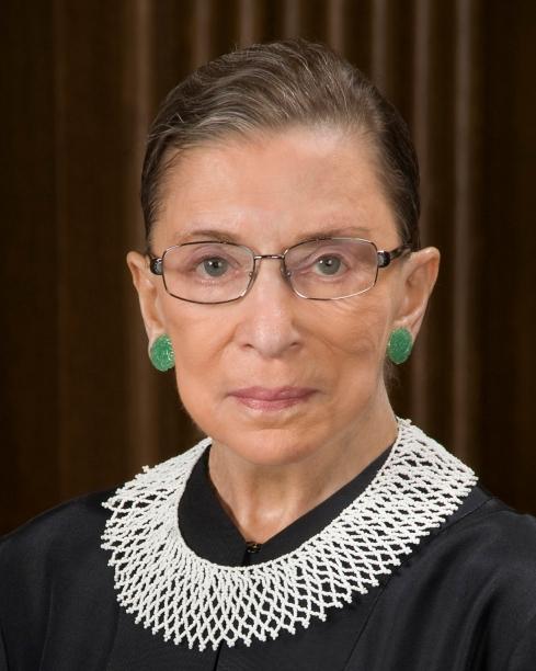 Ruth Bader Ginsburg Source: Wikimedia.com