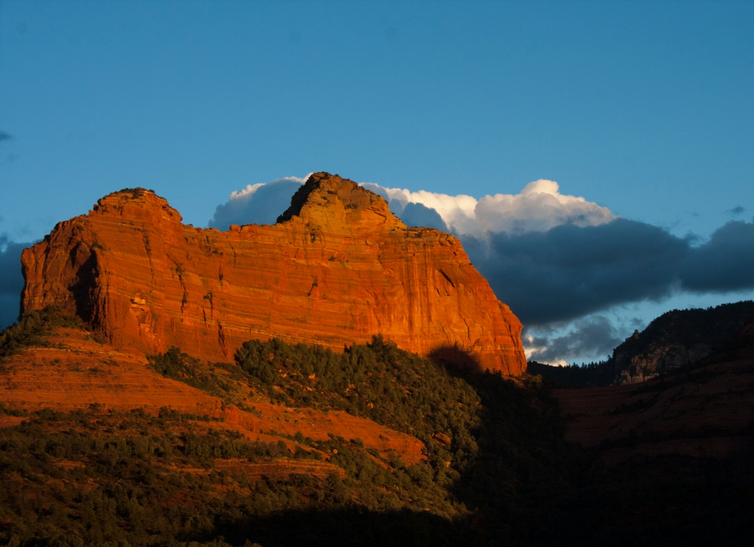 Sedona Sunset 2. Shot with a Canon 40D.