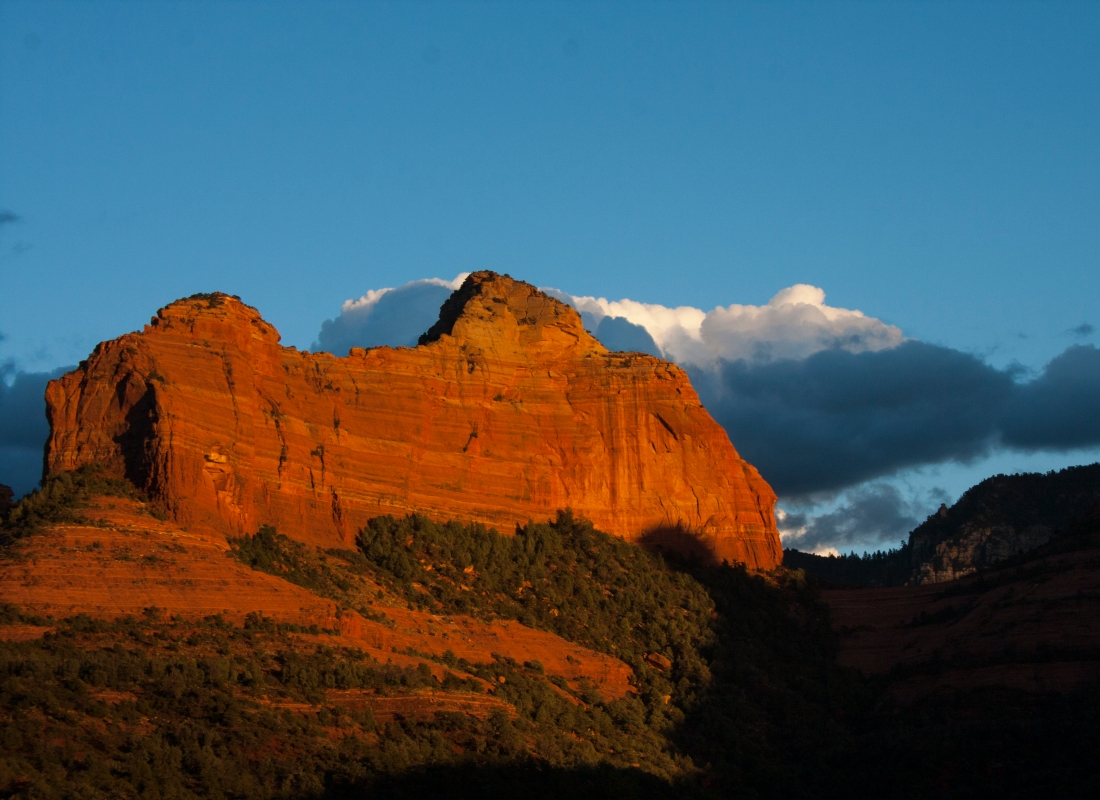 Sedona Sunset 3. Shot with a Canon 40D.