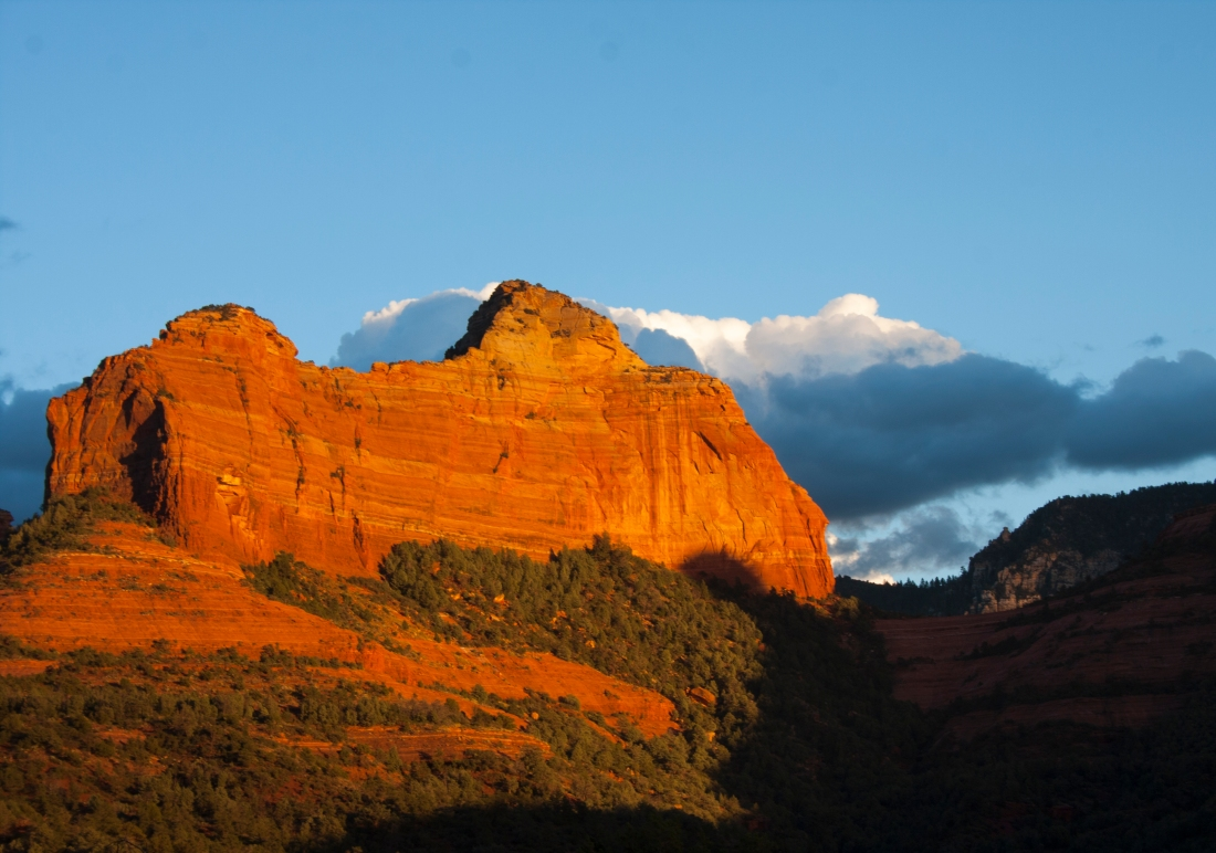 Sedona Sunset 4. Shot with a Canon 40D.