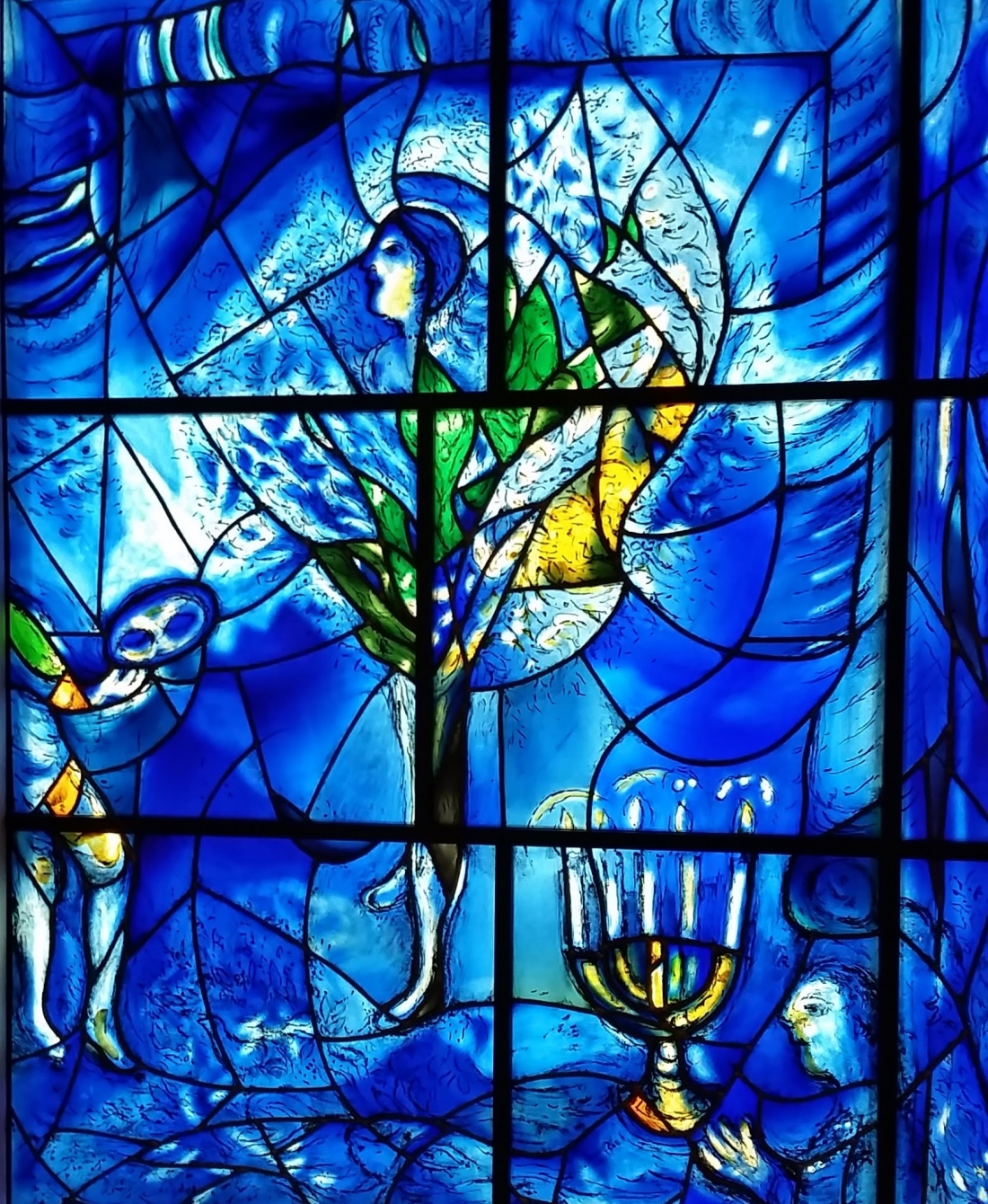 Visiting the Chagall Windows, The Art Institute of Chicago. Shot with a Samsung Galaxy S5