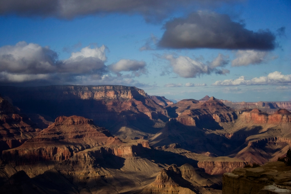 Panorama, The Grand Canyon. Shot with a Canon 40D.