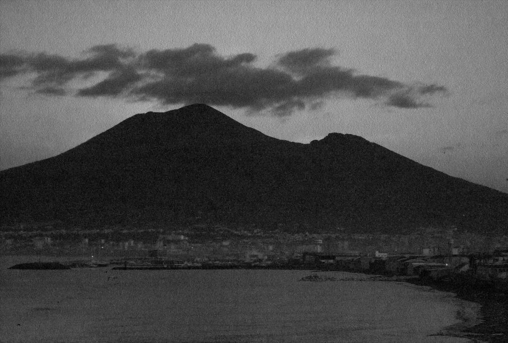 Mt. Vesuvio at Dawn. Shot with a Canon 40D