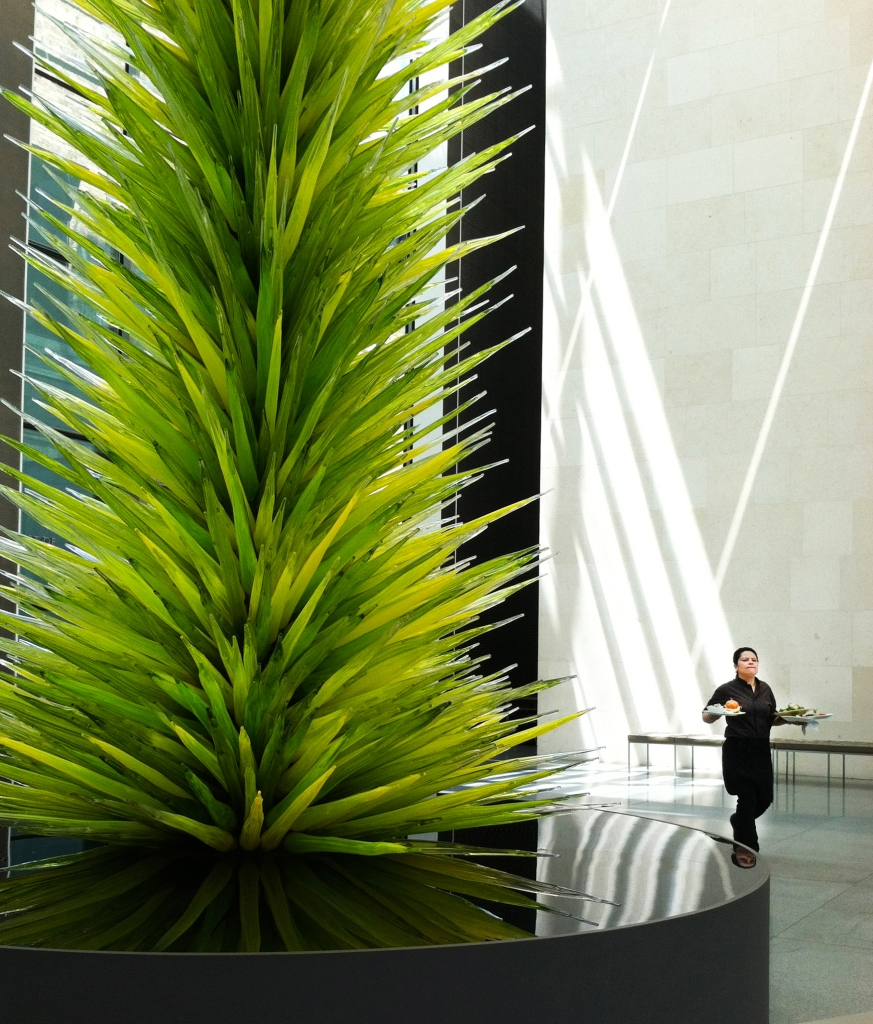 Between the Chihuly and Lunch. Shot with a Canon 40D. The MFA Museum, Boston