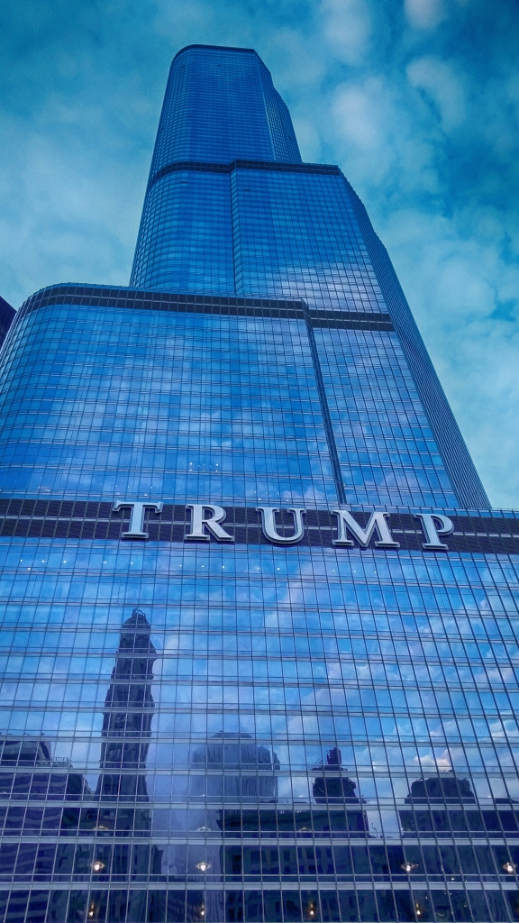 Trump Tower, Chicago. Shot with a Samsung Galaxy S5