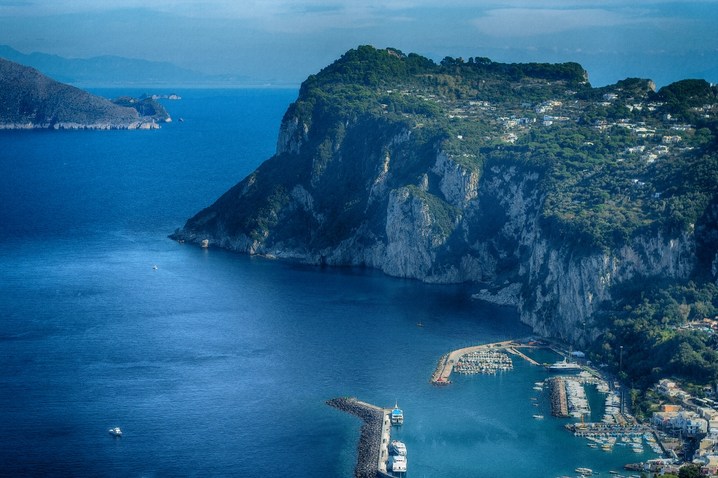 High Above Capri, Italy. Shot with a Canon 40D.