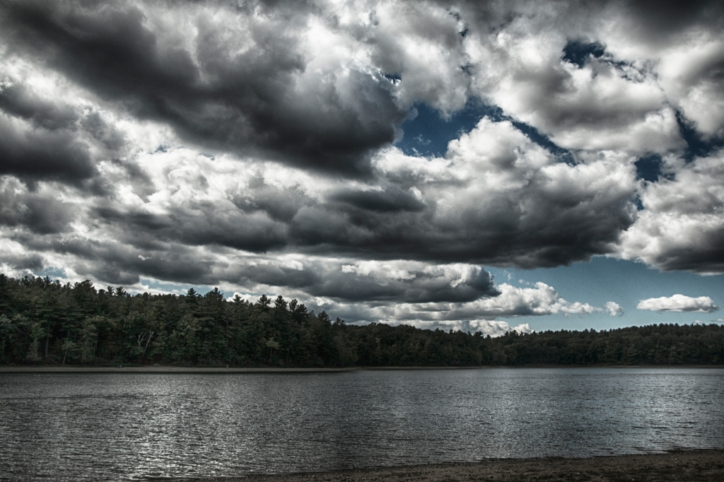 Water Above and Below Walden Pond. Shot with a Canon 70D.