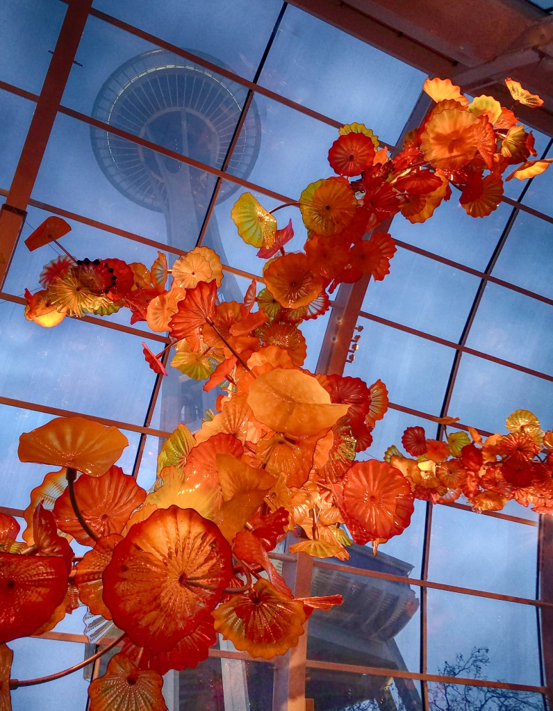 Chihuly Garden and Museum of Glass, Seattle, Washington. Shot with a Samsung Galaxy S6.