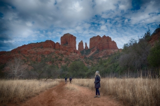 On a Walk with Aly in Sedona, AZ. Shot with a Fuji xt2.
