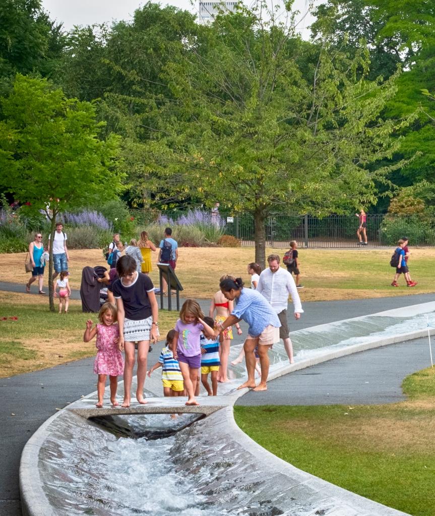 Diana Memorial Fountain Car Park